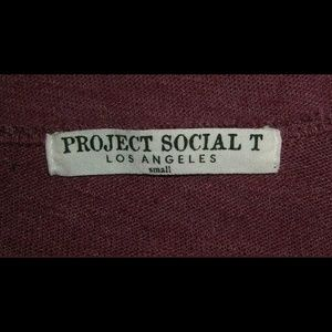Project Social T Tops - Project Social T Top Urban Outfitters Pyramid S